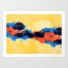 Tectonic Art Print