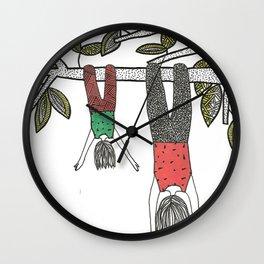 Balancê Reverso Wall Clock