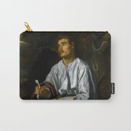 """Diego Velázquez """"John the Evangelist from Patmos"""" Carry-All Pouch"""