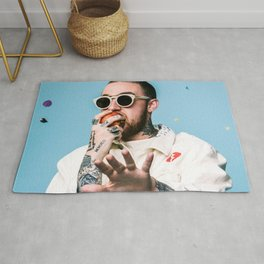 MAC MILLER---Canvas Rug