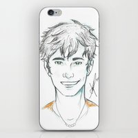 percy jackson iPhone & iPod Skins featuring Percy Jackson by Yokimosho