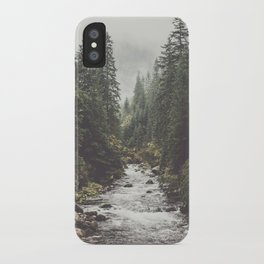 Mountain creek - Landscape and Nature Photography iPhone Case