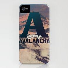 AVALANCHA iPhone (4, 4s) Slim Case