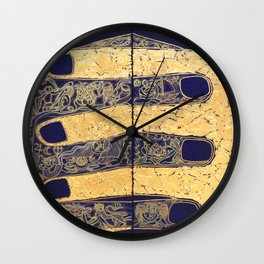 THE NATURE OF RELATIONSHIP. DIPTYCH Wall Clock