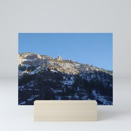 Up the Mountain Mini Art Print