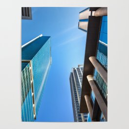 Monumental Skyscrapers in Sydney Poster