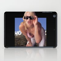gta iPad Cases featuring GTA San Andreas girl in real life by Ian Dinosaurson