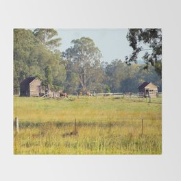 Life on the Land Throw Blanket