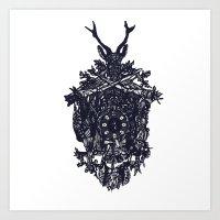 clockwork Art Prints featuring Clockwork by Jamie Bryan