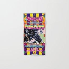 Vintage 1967 Floyd Whisky-A-Go-Go, Los Angeles Concert Poster Hand & Bath Towel