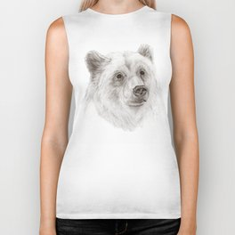 Grizzly :: A North American Brown Bear Biker Tank