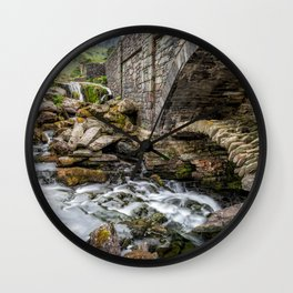 Old Packhorse Bridge  Wall Clock