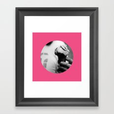 Pink Gelato Framed Art Print
