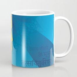 Boho Indian Sage Illustration Coffee Mug