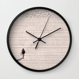 Outside the Lines Wall Clock