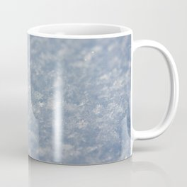 Snowflakes Photography Print Coffee Mug