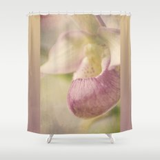Lovely Lady Slipper Shower Curtain