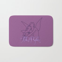 The Angel Bath Mat
