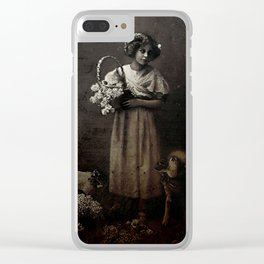 Like Lambs to the Slaughter Clear iPhone Case