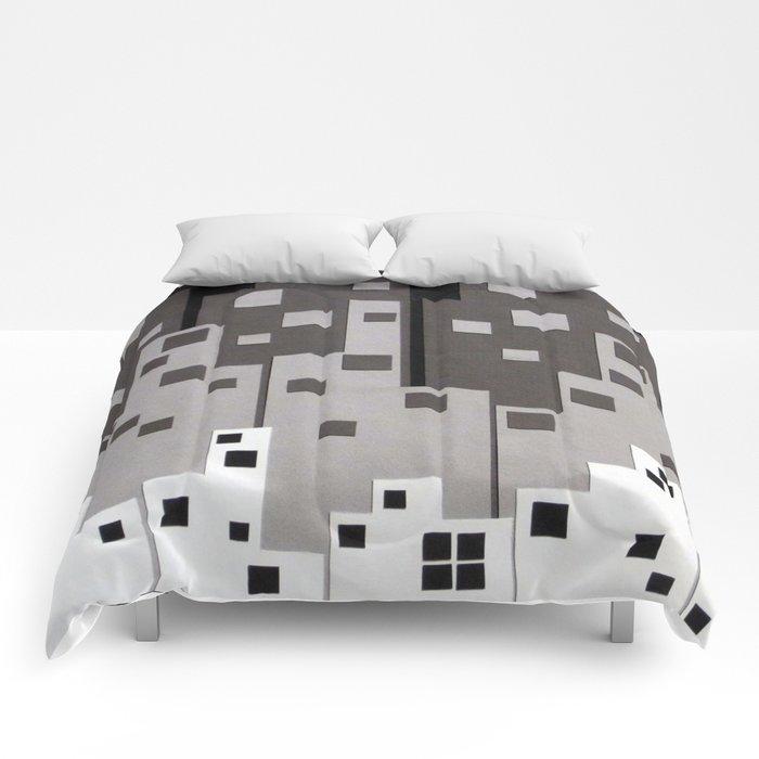 City at Night Comforters