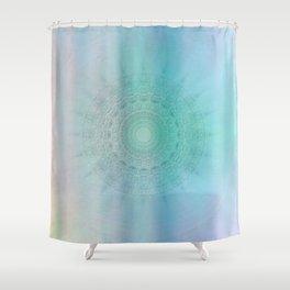 Mandala sensual light Shower Curtain