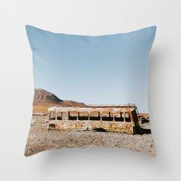 San Pedro de Atacama Throw Pillow