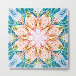 Flower of Life Mandalas 11 Metal Print