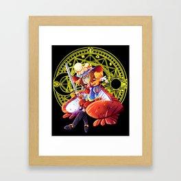 Prince Sakura Framed Art Print