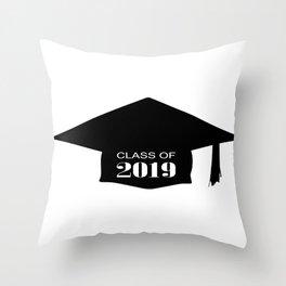 Class of 2019 Throw Pillow