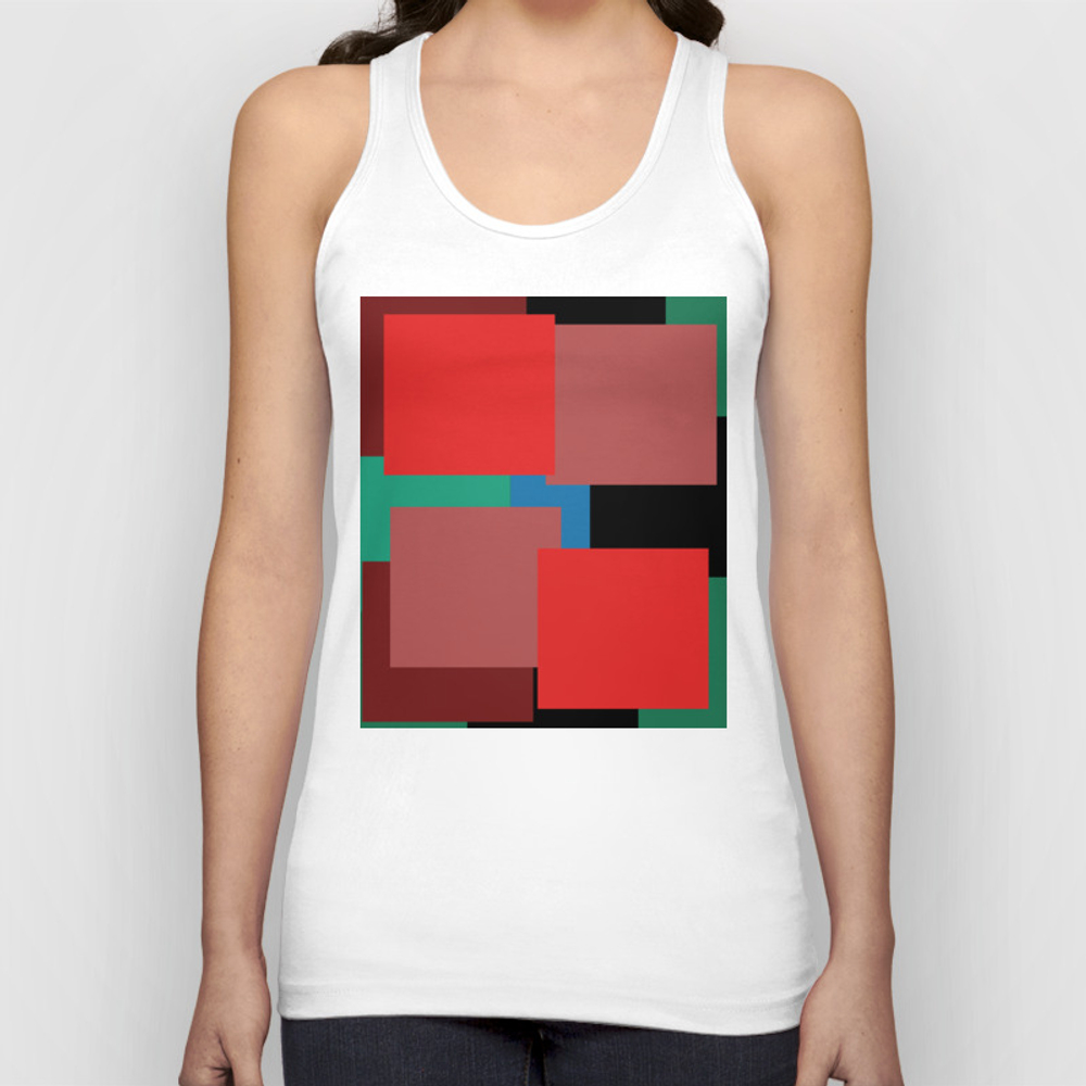 Colourblock By Definition Tank by Basicdesignsdanmark TNK8850017
