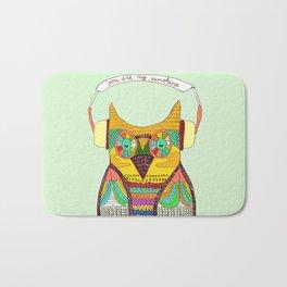 The Owl rustic song Bath Mat