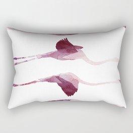 Flying Flamingos Rectangular Pillow