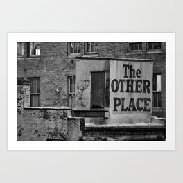 The Other Place Art Print