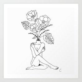 Female Body Art Prints For Any Decor Style Society6
