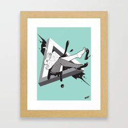 Lady Bunny Framed Art Print