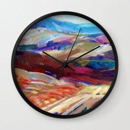 Hills Wall Clock