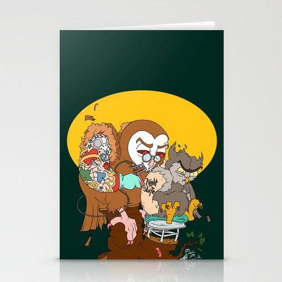 Tuff Owls Stationery Cards