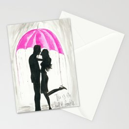this is my kind of fairytale - Pink Stationery Cards