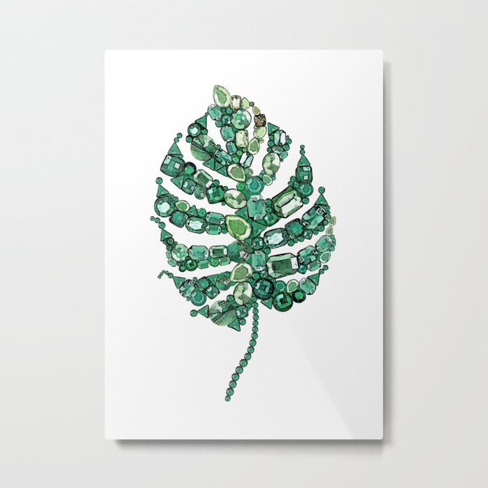 Palm leave Metal Print