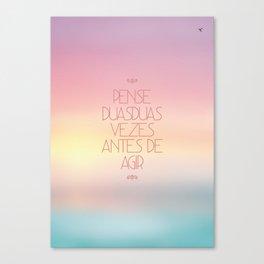 duas Canvas Print