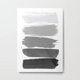 Greytone; Metal Print