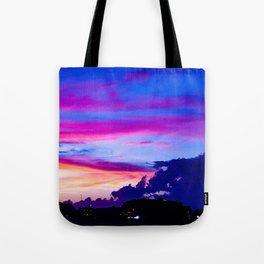 Hampton Sunset Tote Bag