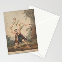 Cardon Anthony  PM Deshayes et M dEgville dans le ballet pantomime dAchille et DeidamieAdditional Achille et Deidamie Stationery Cards
