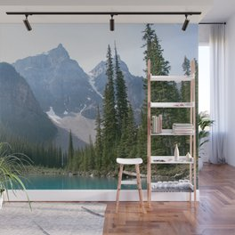 Moraine Lake Mountains Wall Mural