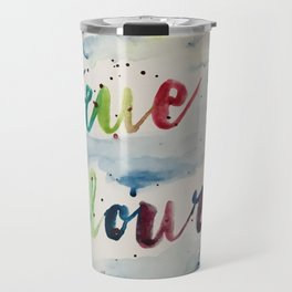 True colors Travel Mug