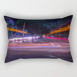 Luces en la ciudad Rectangular Pillow
