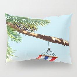 puerto rico hammock beach poster Pillow Sham