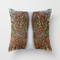 Twins B Throw Pillow