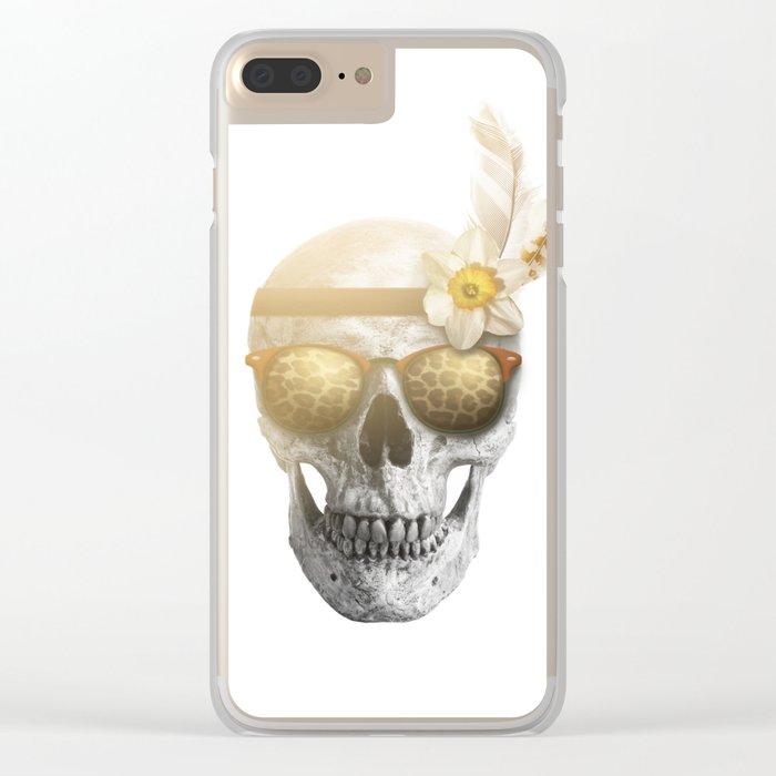 """Mortem in Gloria """"Ati"""" Clear iPhone Case"""