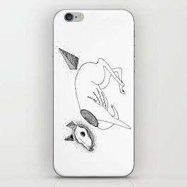 Canis putidus iPhone Skin